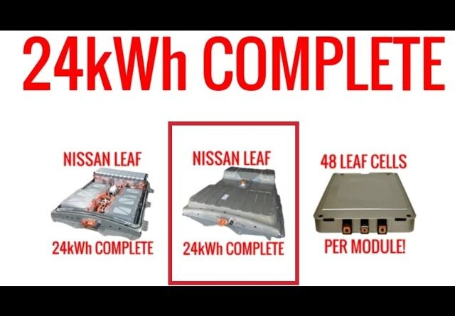 NISSAN LEAF CAR BATTERY - LIVING WITH AN ELECTRIC CAR CHARGED BATTERY